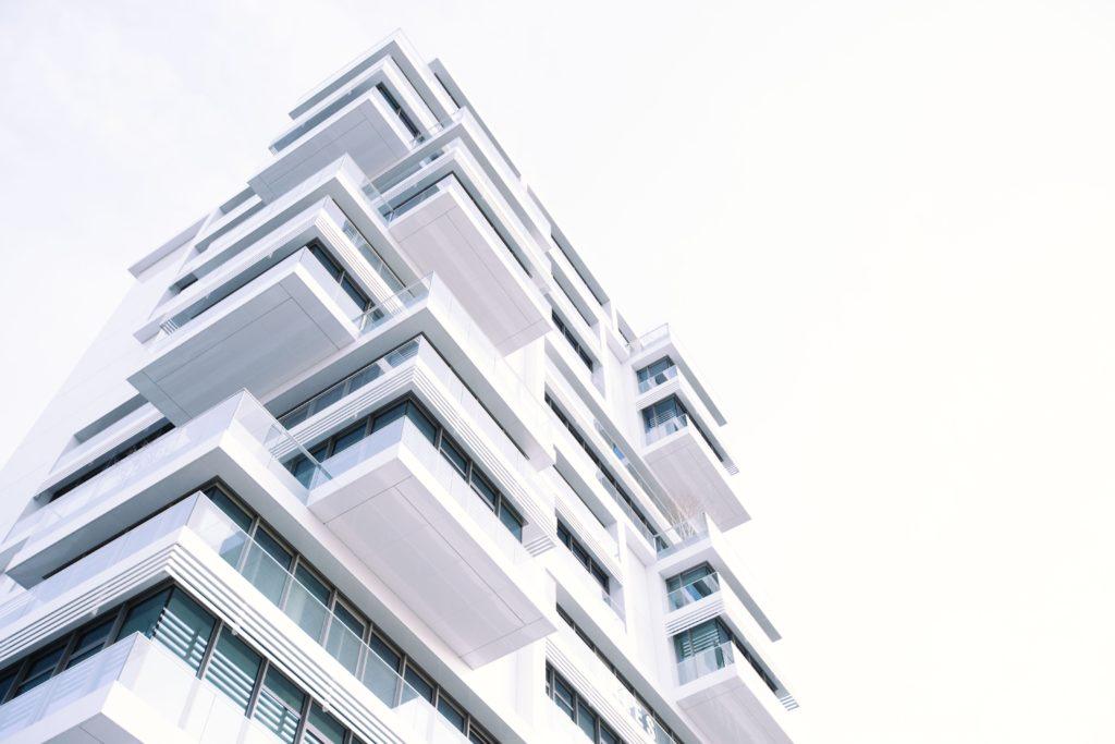 new build residential block